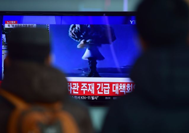 朝鮮核試驗(資料圖片)