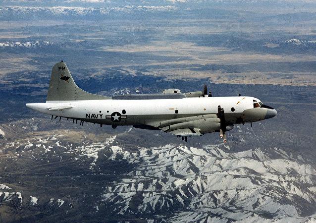 美國海軍 Lockheed EP-3 Aries 偵察機