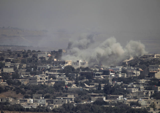 以色列动用反导系统回击叙的导弹发射