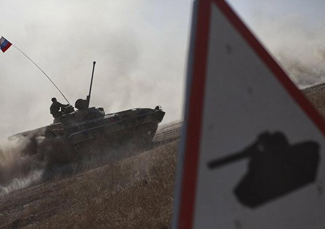 俄军参加上合组织演习(2010年)