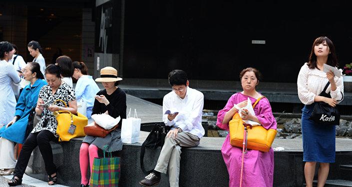 日本近一周高温天气致3人死亡约3500人入院