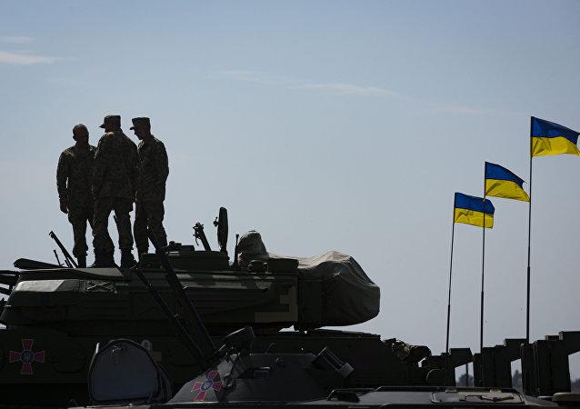 烏克蘭軍方稱已控制頓巴斯中立區的兩個村莊
