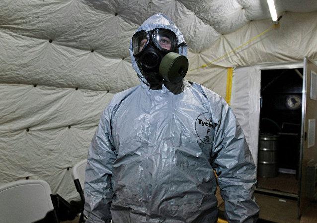 禁止化学武器组织:利比亚化学武器原料消失是因泄漏