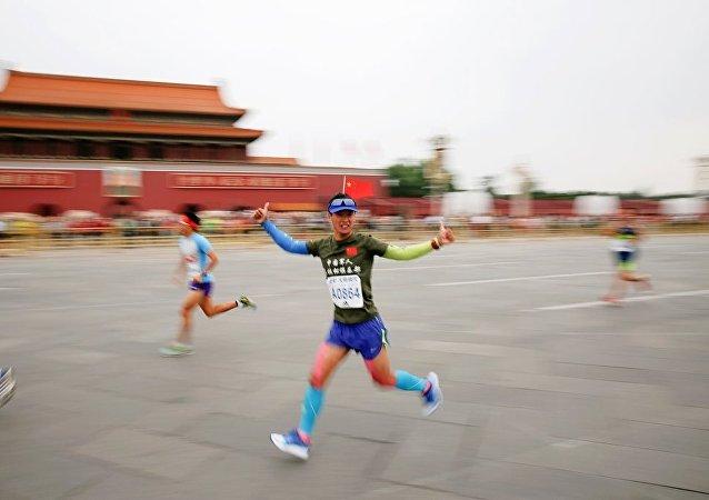 國際馬拉松賽在北京