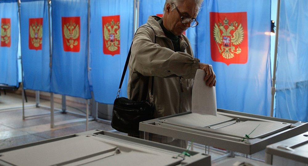 俄國家杜馬選舉在華投票點開放