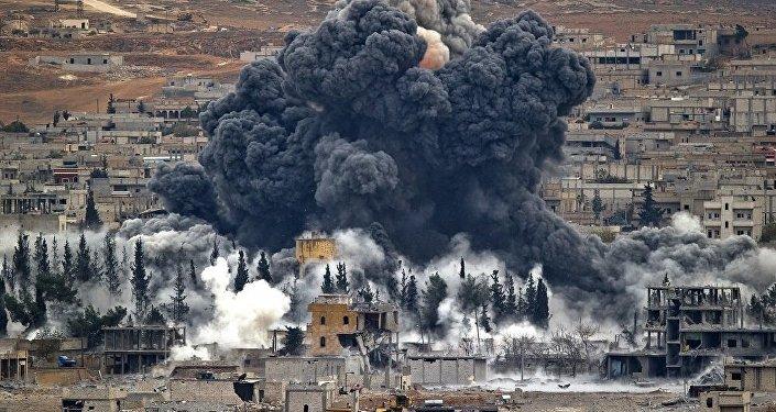美国主导的联军空袭破坏叙利亚国际合作基础