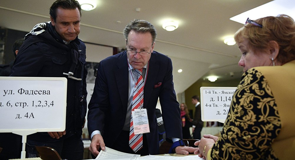 俄中央选举委员会:63个国家的774名观察员在俄罗斯55个地区的选举点工作