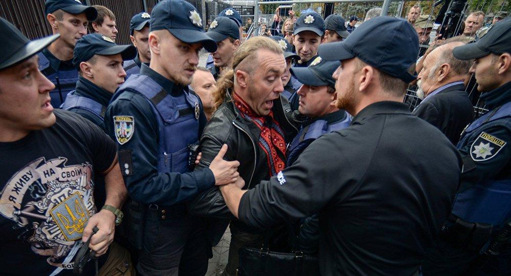 一名俄羅斯人在俄駐基輔大使館附近被毆打 襲擊者被捕
