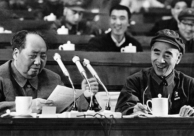 毛澤東和林彪