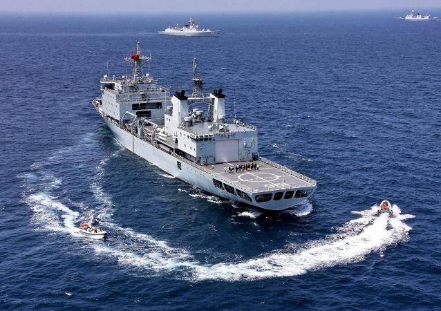「海上聯合-2016」演習