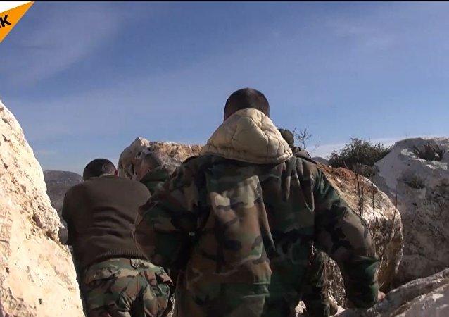 視頻:敘武裝分子正式停戰前破壞停火機制