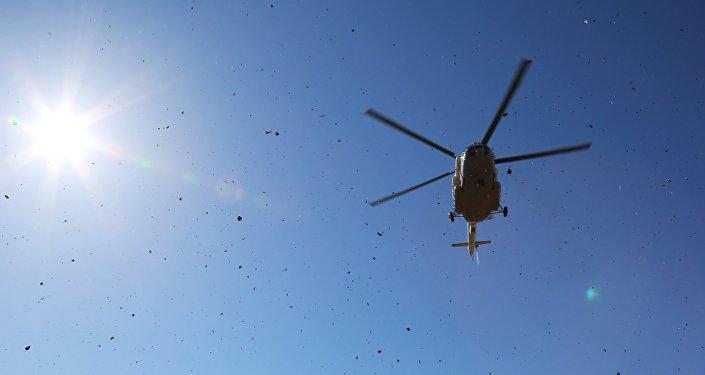 俄太平洋艦隊直升機首次完成9000多公里飛行