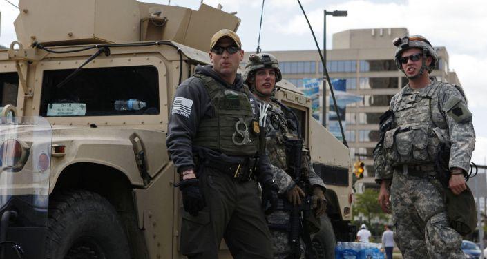 美国国民警卫队