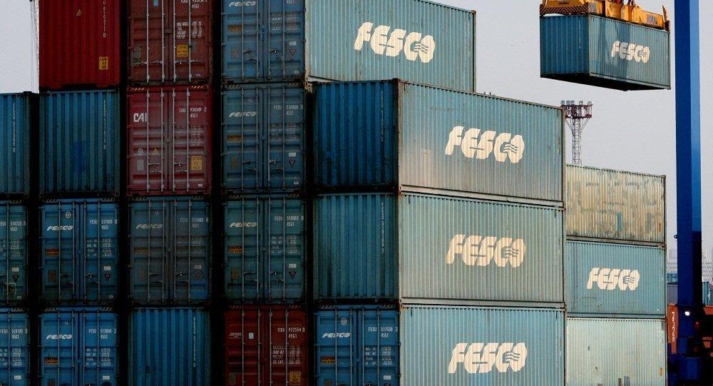 俄FESCO集团开通义乌至莫斯科定期集装箱班列