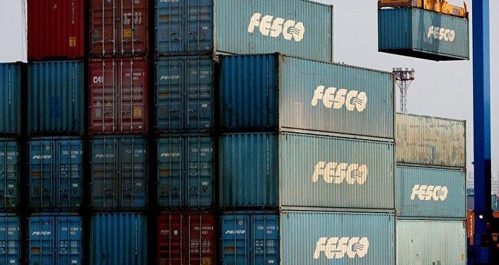 俄远东海洋轮船公司启动俄远东到明斯克的定期集装箱专列