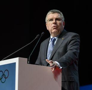 国际奥委会主席托马斯•巴赫