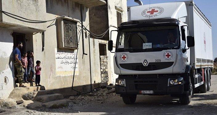 红十字国际委员会:70多辆卡车为叙被困城市运送人道主义物资