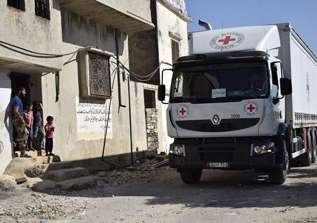 紅十字國際委員會:70多輛卡車為敘被困城市運送人道主義物資