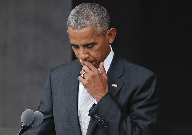 美国前总统巴拉克•奥巴马
