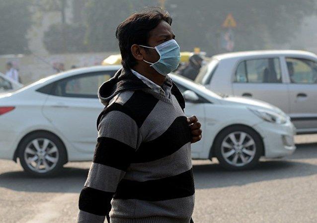 报告:印度每年120万人死于空气污染