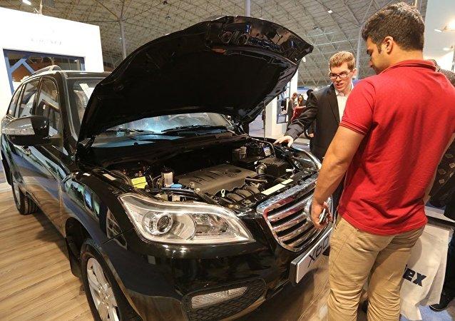中國汽車在俄銷售11個月來首次出現增長