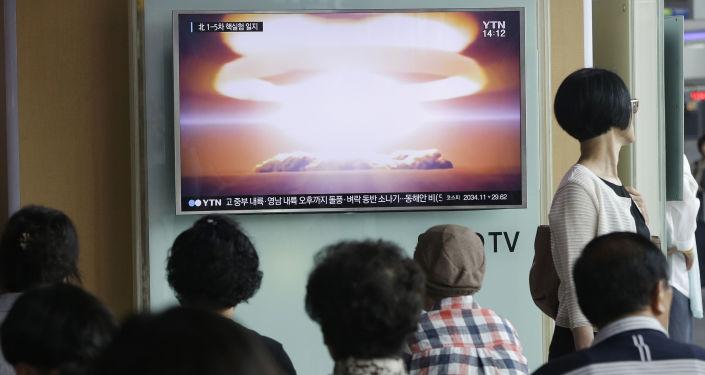 朝鮮積極致力於核彈頭小型化