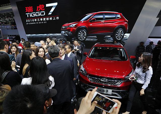 奇瑞汽车考虑提高在俄汽车销售计划