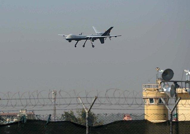 美军无人机在阿富汗