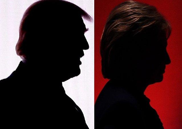MSNBC出口民調:分別有38%和32%選民信任克林頓和特朗普