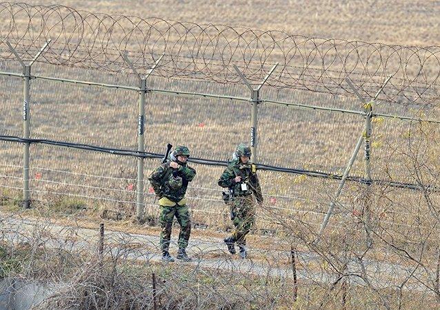 韓國稱一朝鮮士兵越過軍事分界線來到韓方地帶