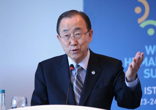 民调:潘基文领先其他韩国总统候选人