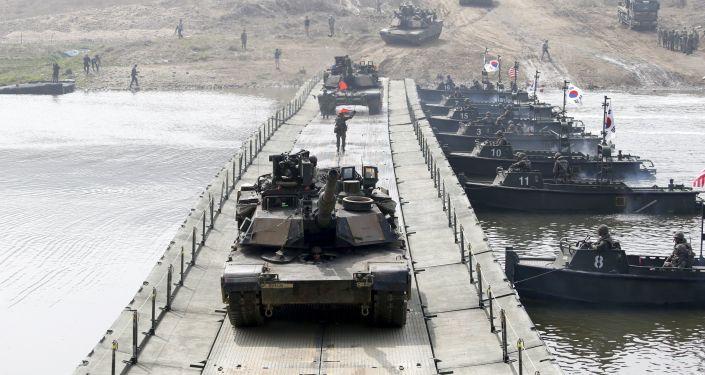 美國防部:美韓商定停止兩個系列軍事演習