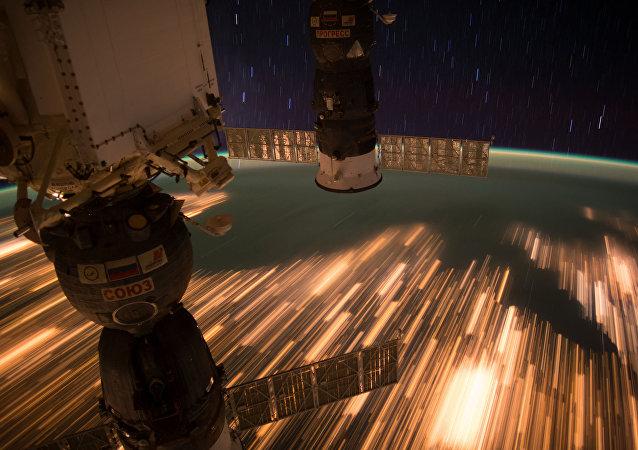 NASA发布来自国际空间站的震撼画面