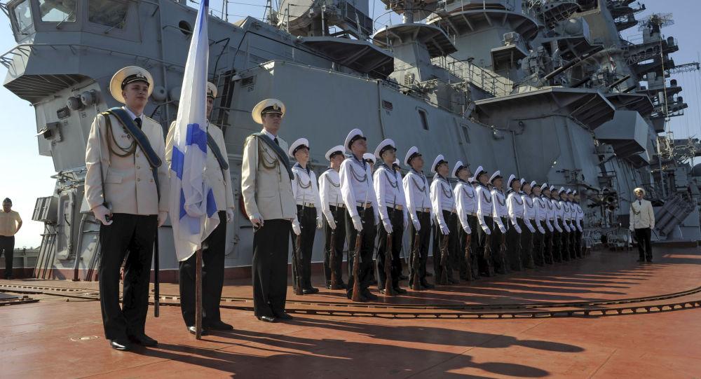 俄海軍在塔爾圖斯(資料圖片)