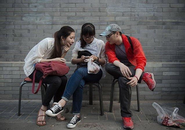 """中国共青团帮助年轻人找到自己的""""另一半"""""""