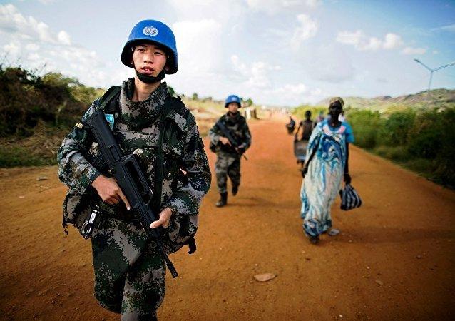 中国驻南苏丹维和人员
