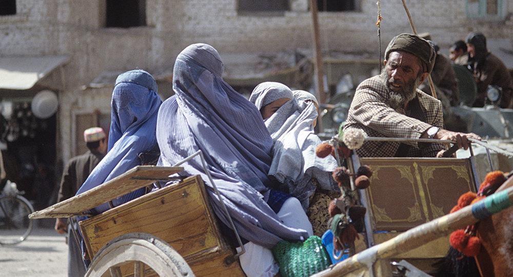 一個阿富汗家庭