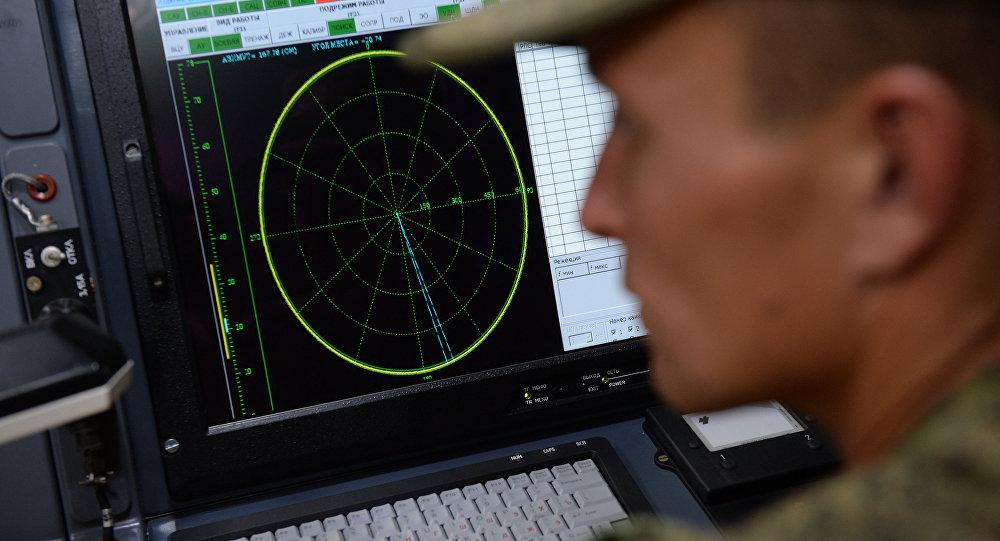 克里米亞海軍基地舉行沿岸無線電技術哨所人員參加的演習