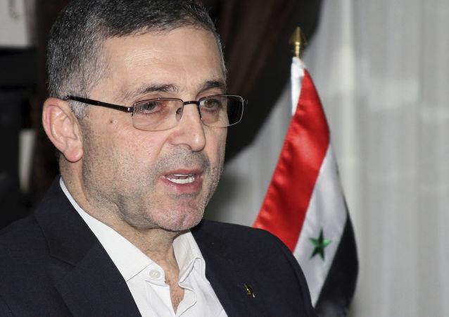 敘民族和解事務部長阿里∙海達爾