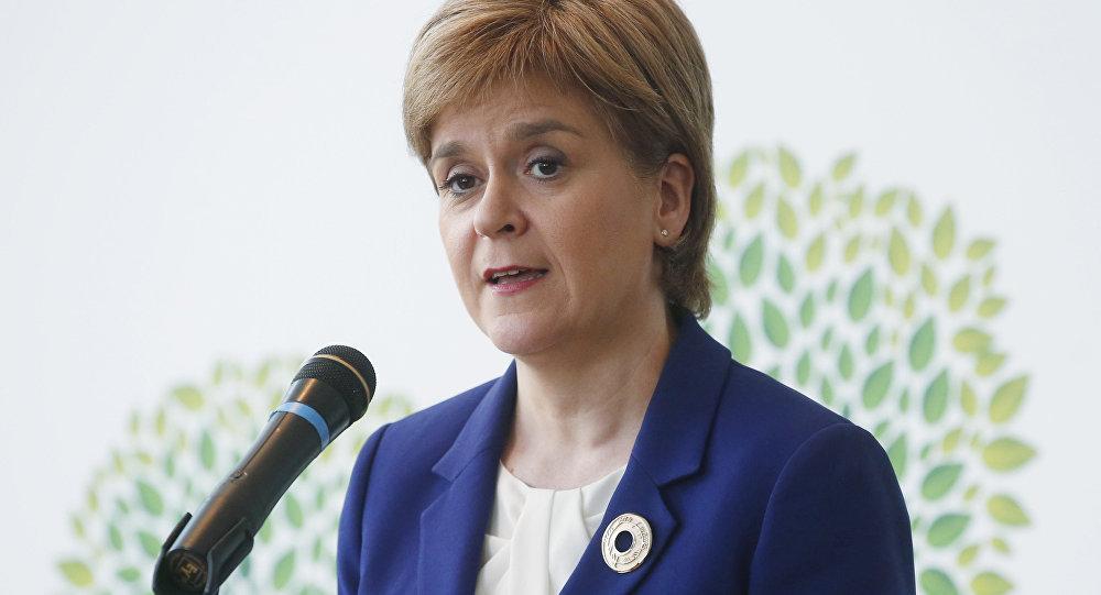 苏格兰政府首席大臣、苏格兰民族党领袖尼古拉·斯特金