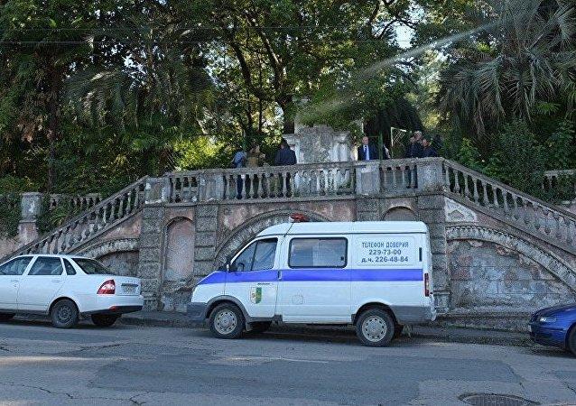 阿布哈茲內政部長:不明身份者在國家廣播電視公司內引爆炸彈