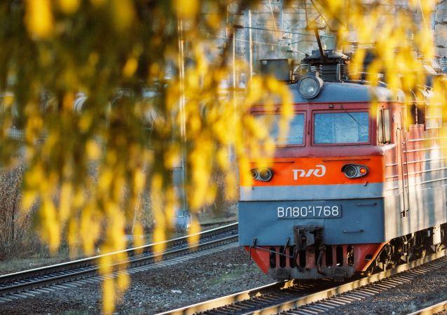 媒體:2016年74%的俄羅斯過境鐵路運輸貨物來自中國