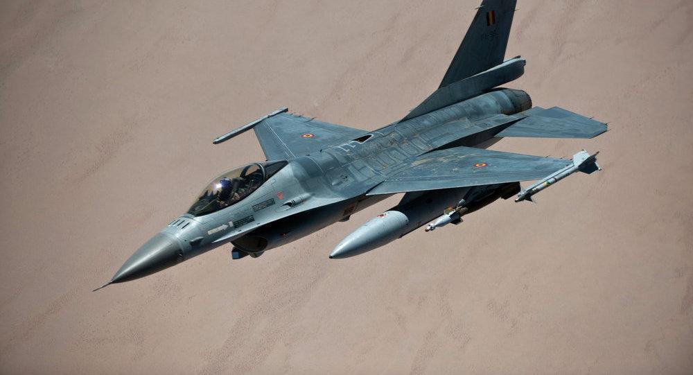 比利时的F-16歼击机