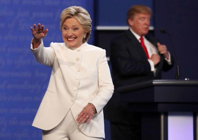 媒體:特朗普不需要從俄獲取希拉里的黑材料