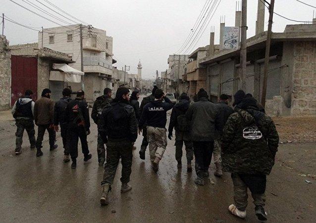 五十多名武装分子向叙利亚政府方倒戈