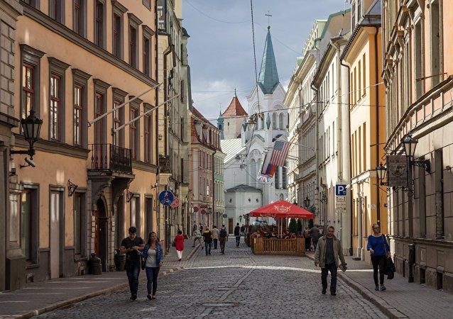 拉脱维亚首都里加