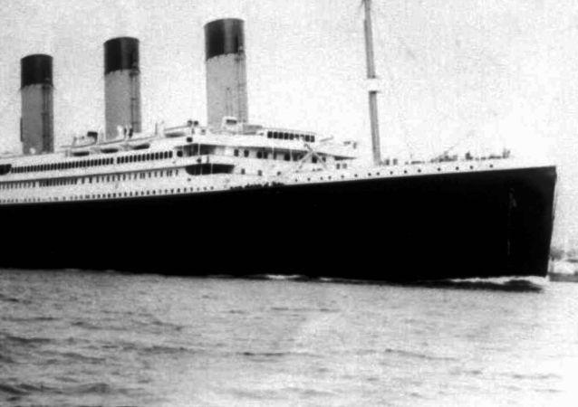 泰坦尼克號/資料圖片/