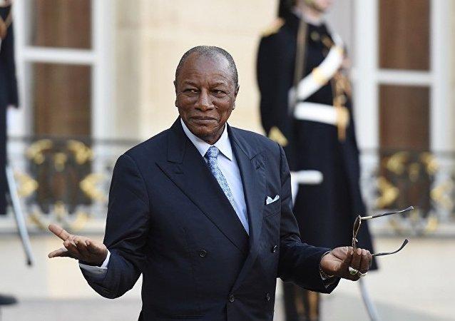 幾內亞總統孔戴