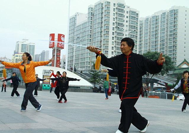 中国退休者将向俄滨海边疆区居民教授气功