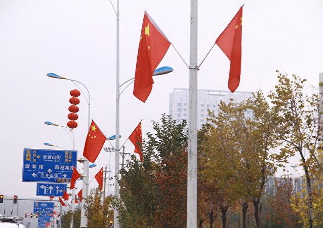 """中方坚决反对英方利用所谓""""新疆""""问题达到政治目的"""